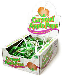 caramel apple boxes wholesale caramel apple lollipops 48ct blaircandy