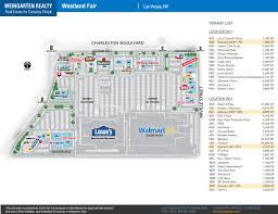 Las Vegas Boulevard Map by Westland Fair Store List Hours Location Las Vegas Nevada