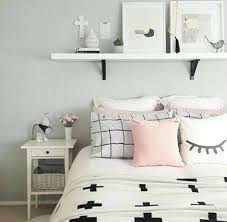 White Black And Pink Bedroom Home Accessory Bedding Bedroom Pillows Nightstand Pillow
