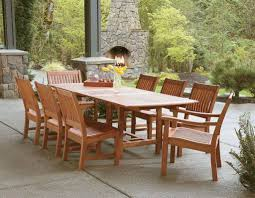 eucalyptus wood dining table outdoor dining area with eucalyptus furniture eucalyptus outdoor