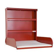 wickeltisch design bybo design klappbarer wickeltisch pippi vegga rot 259 00