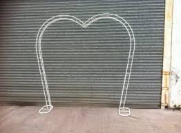 wedding arch for sale heart shaped wedding arch for sale in ballincollig cork from mini mad