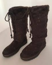 s slouch boots australia skechers australia womens adorbs suede sweater boots brown size 11
