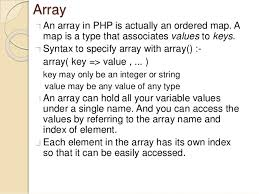 php array map learn php lacture1