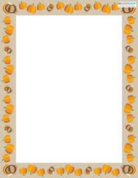 free thanksgiving scrapbook borders and backgrounds lovetoknow