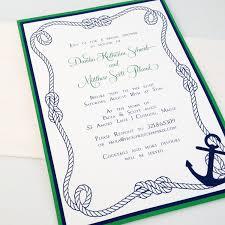 nautical wedding invitation kits diy