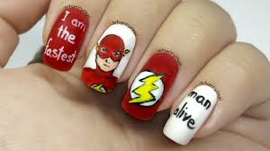 the flash freehand nail art youtube