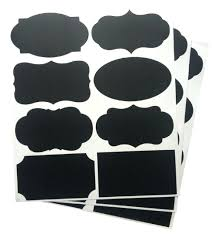 Black Canister Sets For Kitchen Chalkboard Label Template Selling 360pcs Chalkboard Blackboard