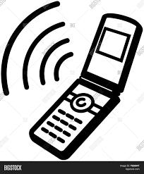 phone icon ringing mobile phone icon vector u0026 photo bigstock