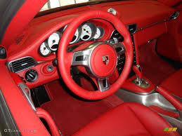 porsche carrera red carrera red interior 2011 porsche 911 turbo s coupe photo