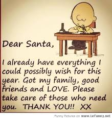 thankful letter to santa