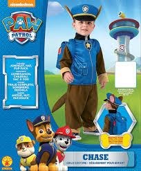 halloween books for toddlers amazon com paw patrol chase costume for toddlers and kids toys