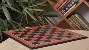 combo of the shera series luxury chess pieces in ebony bud rose