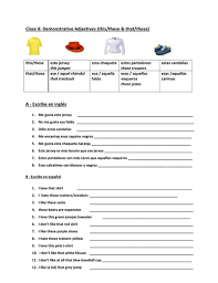 demonstrative adjectives by knotty80 teaching resources tes