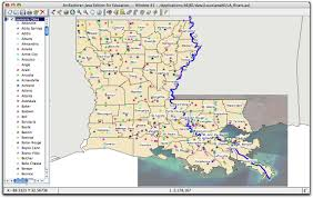Louisiana Parishes Map by Introduction To Symbolization In Arcgis