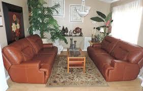 Macys Ricardo Cognac Leather Dual Power Reclining Sofa SetWE - Ricardo leather reclining sofa