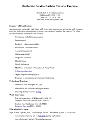 Job Resume Examples For High by Resume Examples For Cashier Free Resume Example And Writing Download