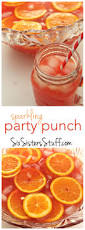 sparkling red party punch recipe red party punches red party