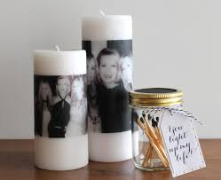 diy s day photo candle evite