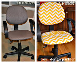 Partner Desks Home Office by Color Fabulous A Gray Office Chair Gets A Burst Of Yellow Your