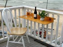 Outdoor Furniture Balcony by Fantastic Idea For A Small Balcony U2013 A Small Table For Anything