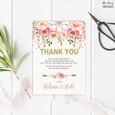 baby shower thank you thank u cards for baby shower new sle 14 baby shower thank you