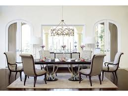 Dining Room Table White Dining Room Miramont Double Pedestal Dining Table