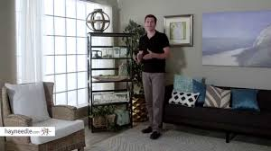 montego 5 tier bookcase product review video youtube
