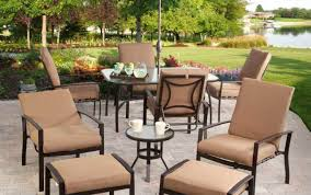 patio u0026 pergola black round modern rattan patio chairs and table
