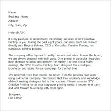 commercial reference letter example resume acierta us