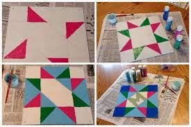 How To Paint A Barn Quilt A Barn Quilt For Your Garden Flea Market Gardening