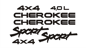 jeep wave sticker jeep cherokee decal set xj vinyl decals for jeep