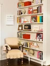 amazing shallow bookshelves designs interior decoration