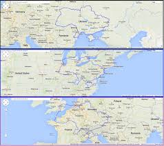Western Europe Map by Size Of Ukraine Compared To Eastern United States U0026 Western Europe