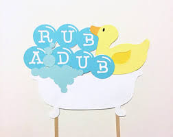 Rubber Ducky Baby Shower Decorations Rubber Ducky Baby Shower Decorations Neutral Baby Shower