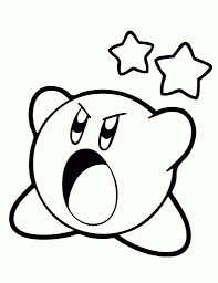 nintendo kirby coloring pages for kids womanmate com