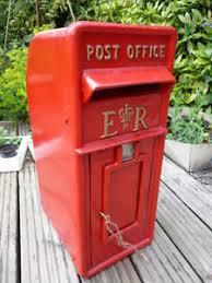 cast iron post box ebay