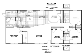 five bedroom home plans floor plan bedroom floorplans modular and manufactured homes in ar