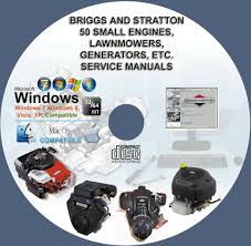 briggs and stratton more than 50 service and repair manuals on cd