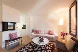 Living Room Without Rug How Area Rugs Can Colorfully Transform A Plain Apartment