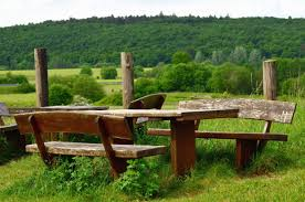 Bench Table Free Picture Bench Table Forest Mountain Meadow Wood Grass