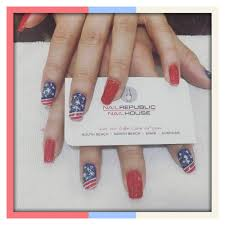 gel nails and design by vivian happy 4th everyone yelp