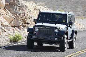 jeep truck 2018 lifted new 2018 jeep wrangler spied testing in the desert will grow in