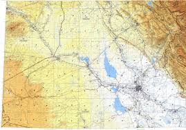 Baghdad Map Download Topographic Map In Area Of Baghdad Dayr Az Zawr Ar