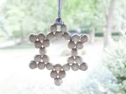 how to make a wooden bead star ornament hgtv