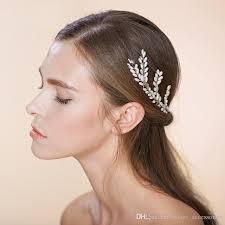 hair accessories wedding wheat bobby pins bridal hair accessories leaf wedding hair