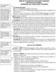 Annexe Iii Modèle D Arrêté Emportant Blâme Les Annexe Iii Modèle De Délibération Article 3 3 2 Emploi De