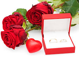 roses and hearts roses with hearts and wedding rings stock photo image of rings