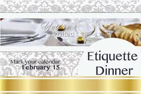 Dining Room Etiquette by Etiquette Dinner Past Events Events Career Services Uw Bothell