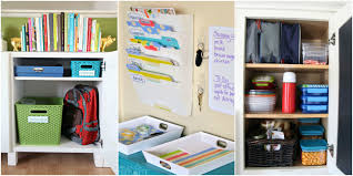 27 back to organizing tips ideas for going back to
